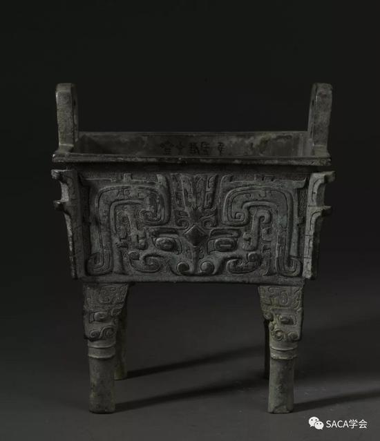▲厚趠方鼎,西周,2.4kg,上海博物馆藏
