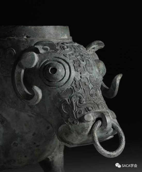 ▲ 牲尊,10.76kg,上海博物馆藏