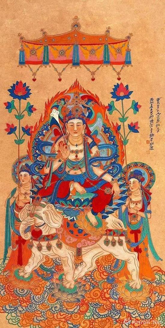 張大千:敦煌壁畫對中國畫壇有十大影響