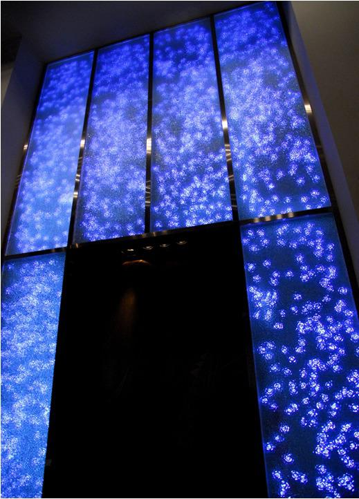 上海環球金融中心91層琉璃裝飾壁畫
