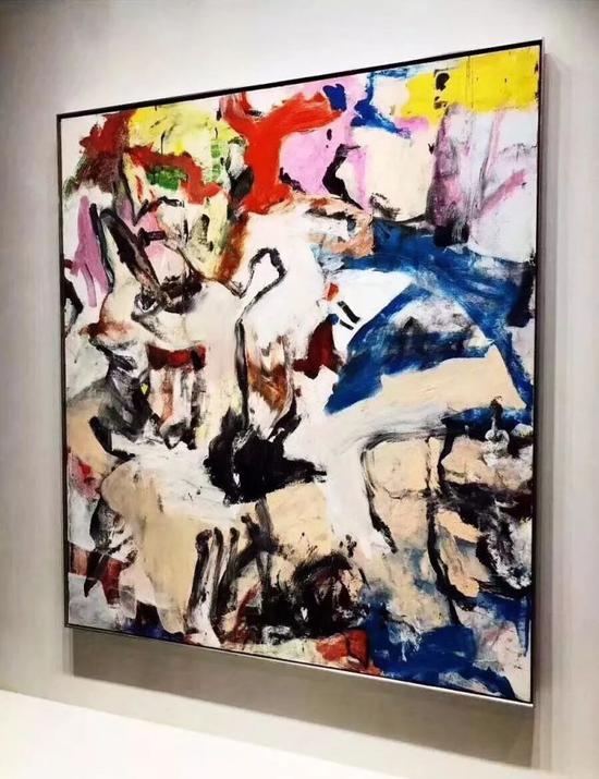 Lévy Gorvy,伦敦、纽约抽象表现主义大师威廉。德。库宁作品(Willem de Kooning)《无题XII》(1975)