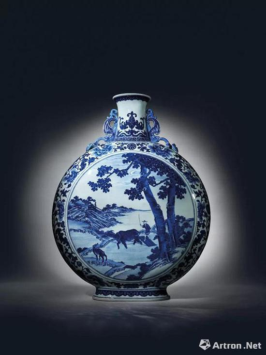 """佳士得香港""""乾隆三希""""御窑瓷器成交逾1.6亿港币佳士得瓷器拍卖收藏"""
