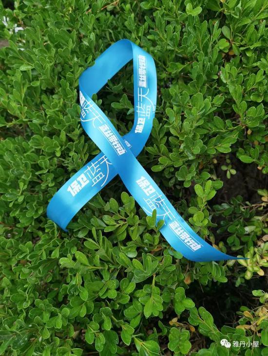 世界环境日保卫蓝天 蓝丝带在行动
