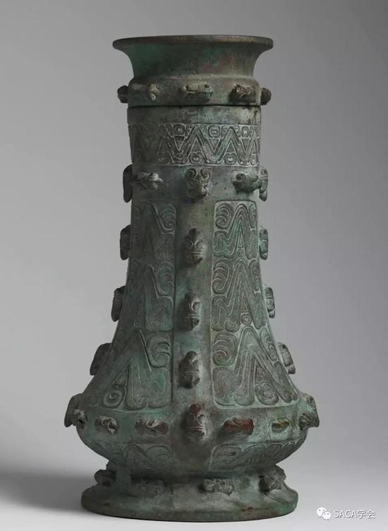 ▲ 蝉纹,上海博物馆藏,Eskenazi旧藏