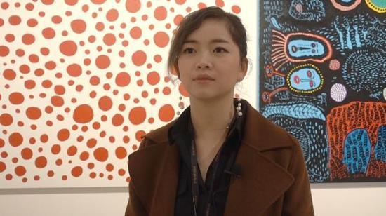 復星藝術中心展覽部負責人端木霞子