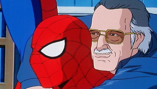 蜘蛛侠与斯坦·李