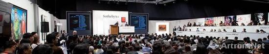 香港苏富比如何缔造了36.4亿港币的历史第二高?当代艺术拍卖收藏