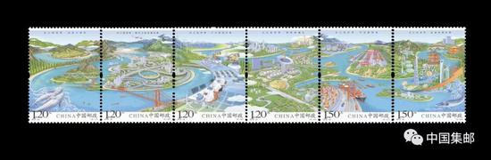 《长江经济带》特种邮票发行