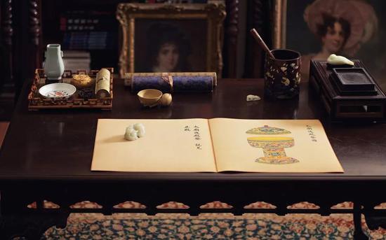 華藝國際今季呈現清乾隆御制《皇朝禮器圖》。