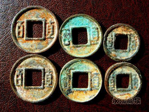 小五銖錢幣、剪邊錢幣告訴我們一個錢能掰成兩半