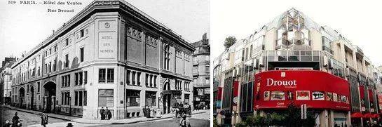 Hotel des ventes de Drouot(Drouot拍賣場),Hotel Drouot(1852成立),巴黎主要的拍賣場