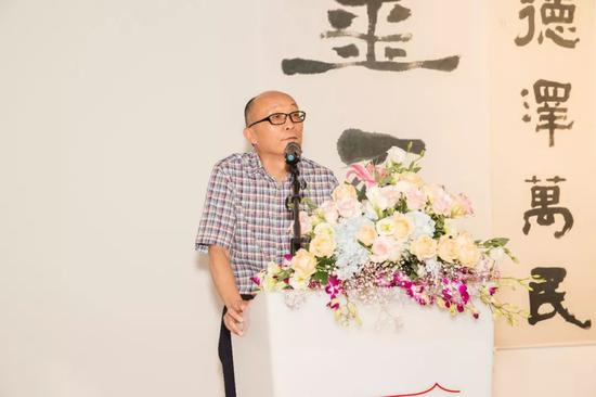 南京百家湖国际文化投资集团董事长秦俭致辞
