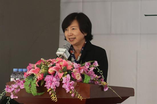 桂林市展覽館館長邱麗萍發言