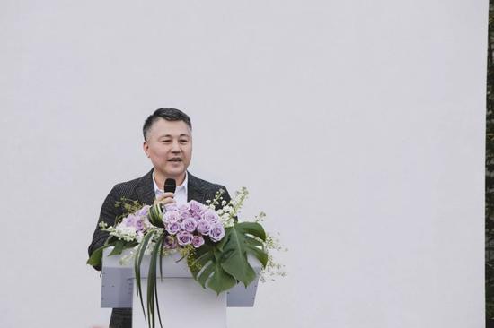 國際知名藝術專家、春在創始人 陳仁毅先生致辭