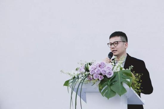德古中式家具設計美術館館長、德古企業創始人 陳國凡致辭
