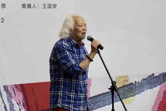 藝術家代表吳山明開幕式致辭