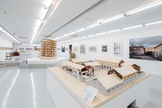 """K11建筑藝術節""""木構復興""""展覽現場"""