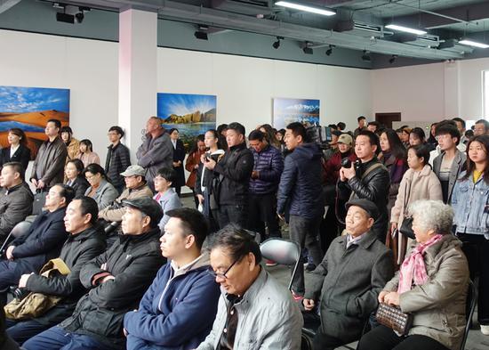 展覽吸引了大量觀眾