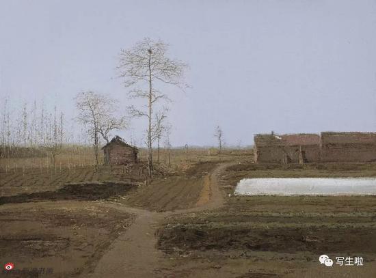 《心灵的宁静与温暖》陆庆龙最新风景写生作品欣赏
