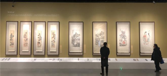 劉海粟美術館海派繪畫年度研究展