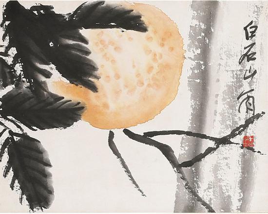 齐白石(1863~1957) 多子多福 起拍价RMB:280,000 成交价RMB:506,000