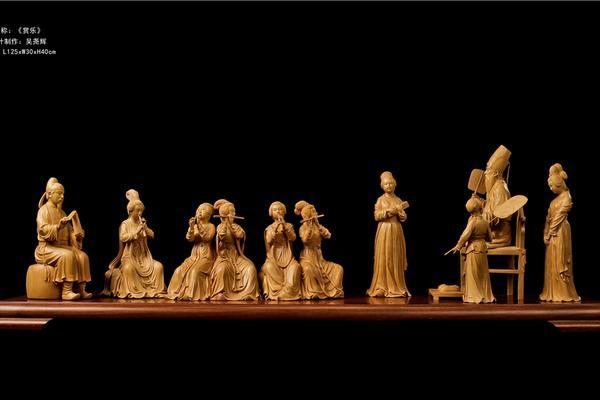 中国木雕艺术大师吴尧辉作品欣赏