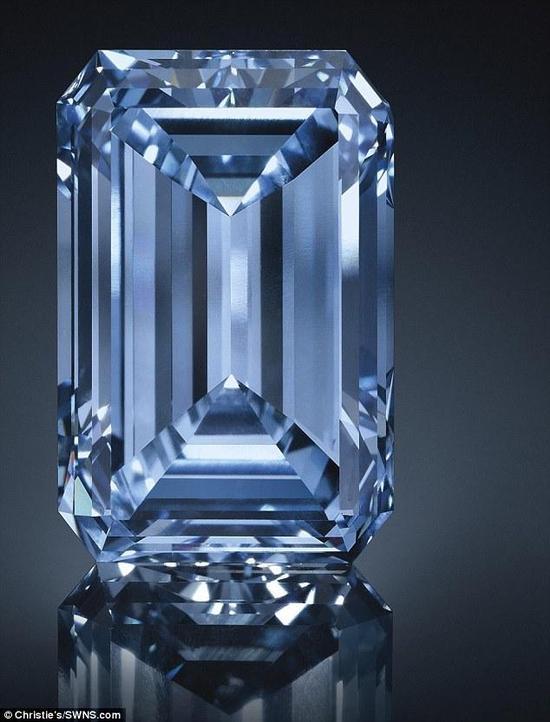 世界上最大的蓝钻,猜猜多少钱