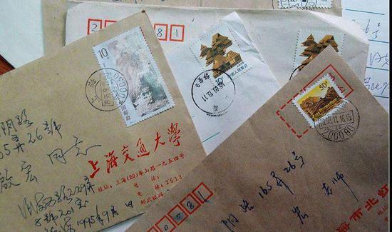 最浪漫的事  就是為了集郵一直寫情書吧
