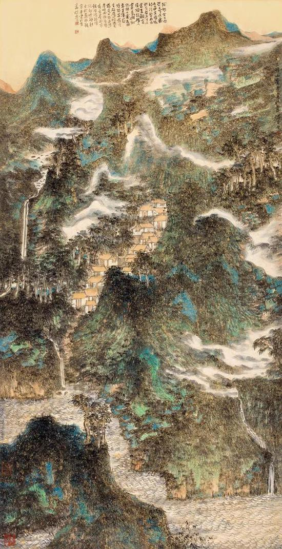 魏广君 画亦精神 136x68cm 纸本设色 2011