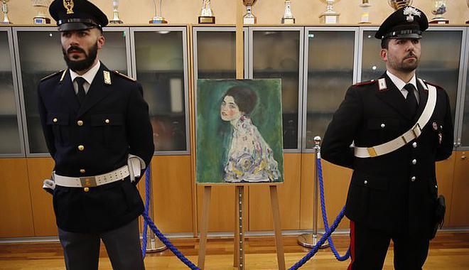 奧地利名畫消失23年后被找到 真相讓人大跌眼鏡
