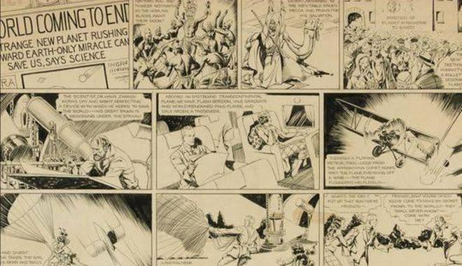 為何一頁漫畫手稿刷新紀錄拍出48萬美元