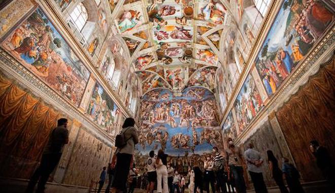 意大利重啟博物館 當地參觀者:人少真好啊
