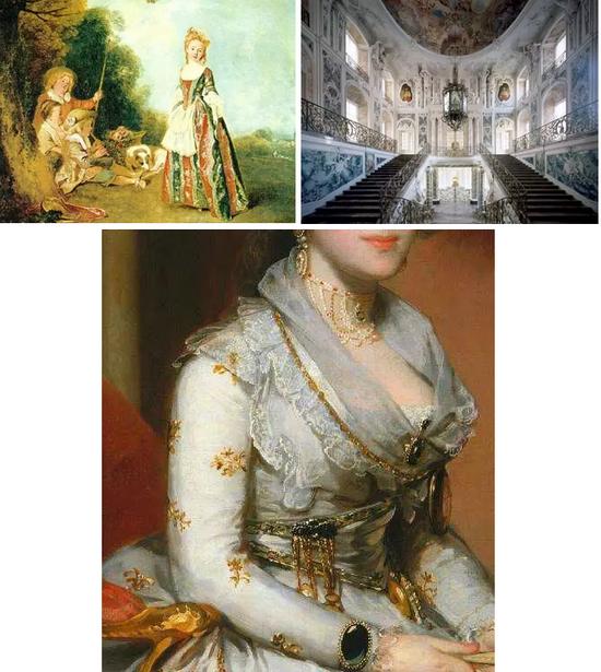 洛可可珠宝风格:与巴洛克比美的艺术类别