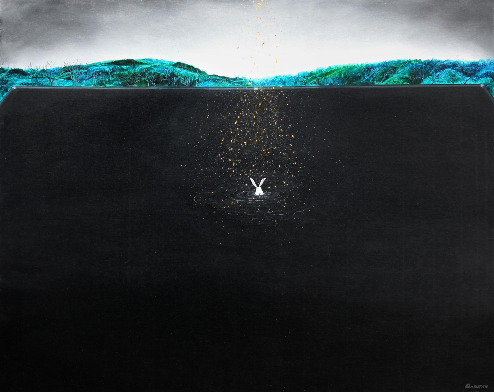 窺探的兔子 丨 李旭彬藝術個展在京舉行