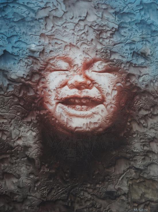 孟濤 蝕像 No.4 布面油畫 200cmX 150cm 2008