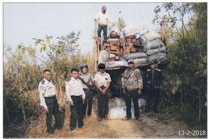 又有几十个走私缅甸花梨木的被抓了