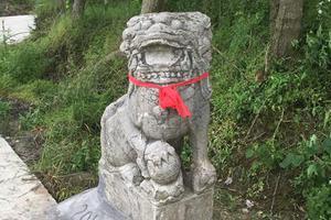 南县破获一起文物盗窃案 追回清朝石狮子