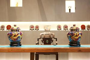 《国器2019》景泰蓝大龙罐在京首发