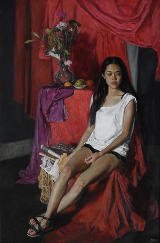 中国女人体油画欣赏_艺术鉴赏:李前的油画艺术|李前|油画_新浪收藏_新浪网