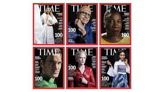 《时代》公布年度T100名单:多位艺术家上榜