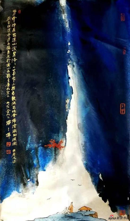 绿水青山就是金山银山——游三辉书画展|游三辉|艺术馆|新浪书画_