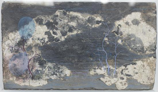陈清勇 《制造山水》-4 2016 28x42cm