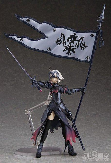 《Fate/Grand Order》黑贞德可动手办 霸气、傲娇全收录超满足