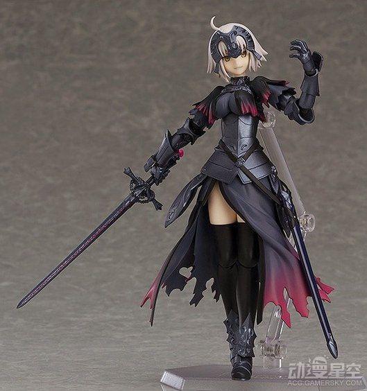 《Fate/Grand Order》黑貞德可動手辦 霸氣、傲嬌全收錄超滿足-TopACG