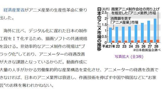 動畫產業衰退危機 日本呼吁別讓中韓搶飯碗-TopACG