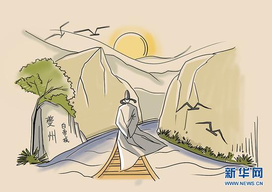 假如李白重新回到白帝城 会看到?#30007;?#21464;化呢?