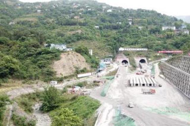 重庆铁峰山隧道全线贯通 万州至开州车程只需15分钟