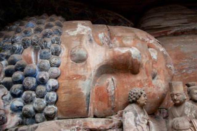 世界最大半身卧佛造像大足石刻卧佛将正式启动修缮