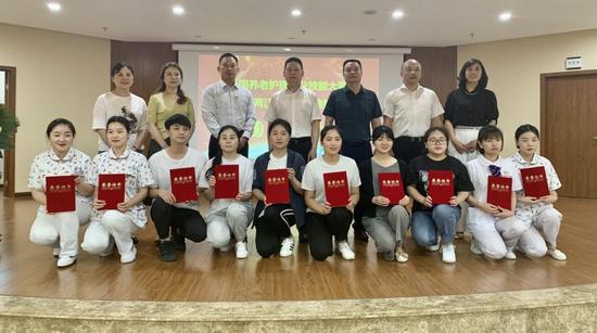 全国养老护理职业技能大赛重庆两江新区赛区选拔赛举行