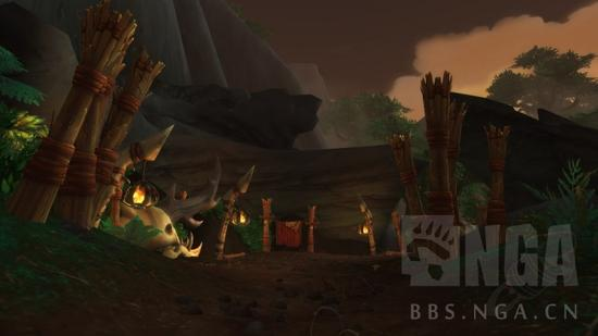 雄狮岗哨任务线_魔兽世界6.2塔纳安丛林刃牙追猎者声望获取指南-新浪魔兽世界专区